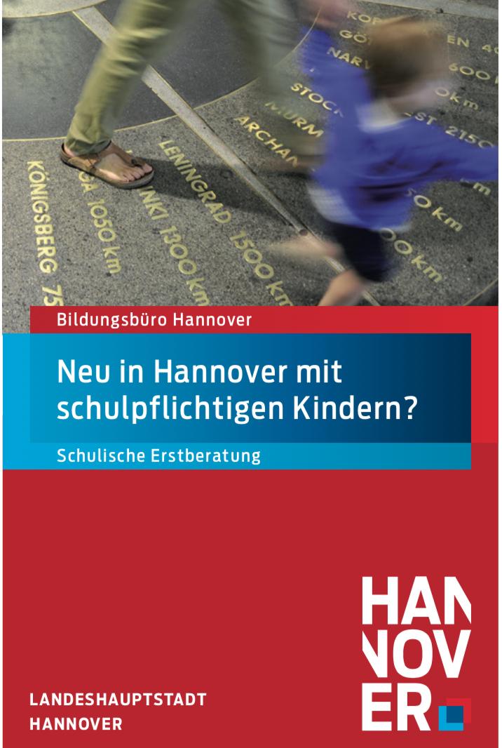 Schulische Erstberatung an für neu nach Hannover Zugewanderte